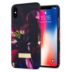 Ted Baker Loliva iPhone X hülle - Impressionistische Blüte
