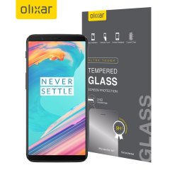 Olixar OnePlus 5T Tempered Glass Screen Protector