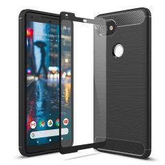 Olixar Sentinel Google Pixel 2 XL Case and Glass Screen Protector