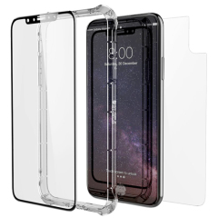 ZAGG InvisibleShield iPhone X Glass+ Contour 360 Full Case - Clear