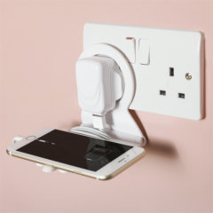 ThumbsUp Handy Phone Tidy Charging Shelf and Cable Organiser - White