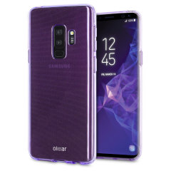Olixar FlexiShield Samsung Galaxy S9 Plus Gel Case - Lilac Purple