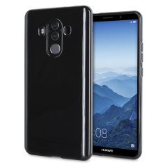 Olixar FlexiShield Huawei Mate 10 Pro Gel Hülle in Schwarz