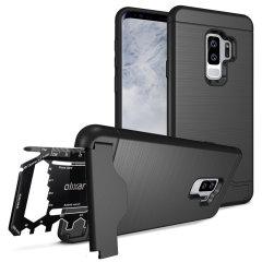 Olixar X-Ranger Samsung Galaxy S9 Plus Survival Case - Tactical Black