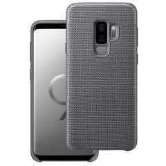 Official Samsung Galaxy S9 Plus Hyperknit Cover Case - Grey