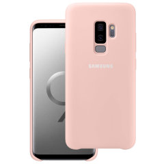 Official Samsung Galaxy S9 Plus Silicone Cover Case - Rosa