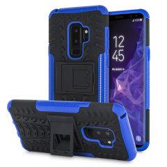 Olixar ArmourDillo Samsung Galaxy S9 Plus Protective Case - Blue