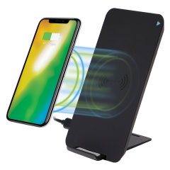 4Smarts VoltBeam 10W Fast Wireless Charging Stand - Black