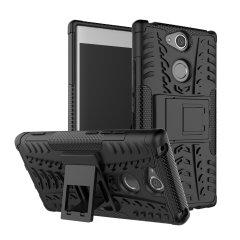 Olixar ArmourDillo Sony Xperia XA2 Hülle in Schwarz
