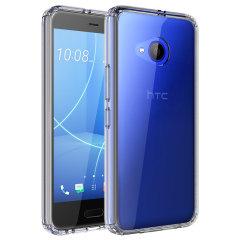 Olixar ExoShield Tough Snap-on HTC U11 Life Case - Kristallklar