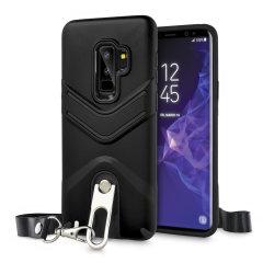 Olixar LanYard Samsung Galaxy S9 Plus schützende Hülle - Schwarz