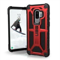 UAG Monarch Premium Samsung Galaxy S9 Plus Schutzhülle  - Crimson