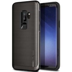 Obliq Slim Meta Samsung Galaxy S9 Plus Hülle - Schwarzes Titanium