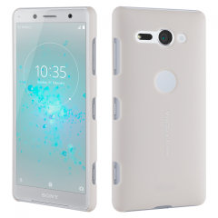 Roxfit Sony Xperia XZ2 Compact Präzision Schlanke Harte Schale- Silber