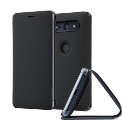 Original Sony Xperia XZ2 Compact Style Cover Stand Tasche  - Schwarz