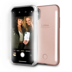 LuMee Duo iPhone X doppelseitige Beleuchtungshülle - Rosa