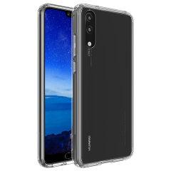Olixar ExoShield Tough Snap-on Huawei P20 Case - Klar