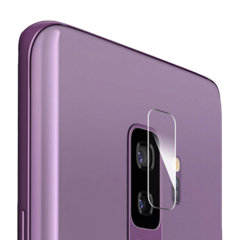 Olixar Samsung Galaxy S9 Plus Hartglas Kamera Protektoren – Doppelpack