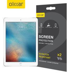 Olixar iPad 9.7 2018 Displayschutz 2-in-1 Pack