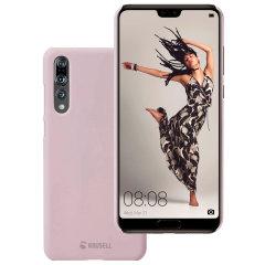 Krusell Nora Huawei P20 Pro Schalenhülle – Staubig rosa