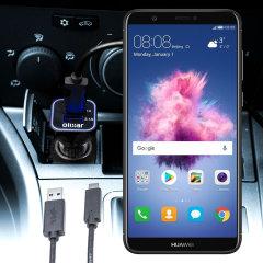 Olixar High Power Huawei P Smart KFZ Ladekabel