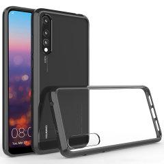 Olixar ExoShield Tough Snap-on Huawei P20 Pro Case - Schwarz