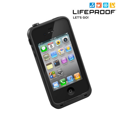 lifeproof case for iphone 4s lifeproof indestructible for iphone 4s 4 black 7126
