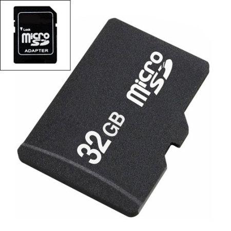 32gb micro sd speicherkarte mobilefun sterreich. Black Bedroom Furniture Sets. Home Design Ideas
