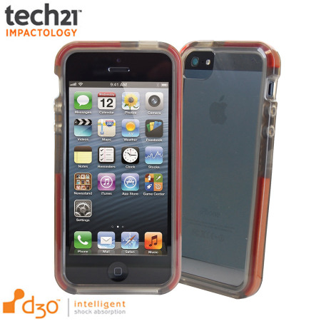tech 21 iphone 5s tech21 d3o impact band for iphone 5s 5 smoke 6673