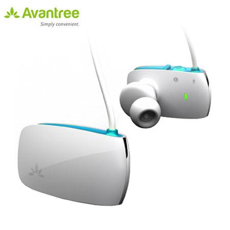 avantree sacool stereo bluetooth headset white blue reviews mobilezap australia. Black Bedroom Furniture Sets. Home Design Ideas