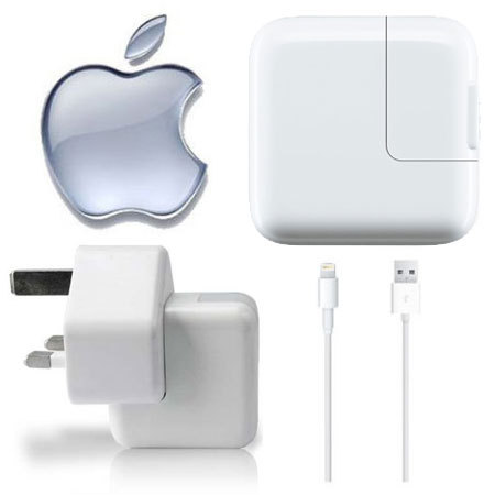 Genuine Apple Lightning Mains Charger - iPad Air 2 / Mini 3 / iPad 4 :: MobileZap Australia