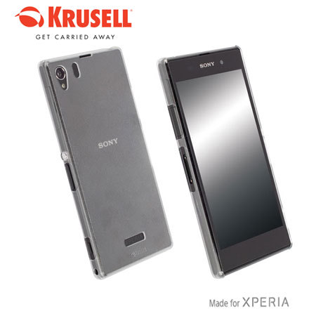 Xperia Z1 White Review Krusell FrostCover Son...