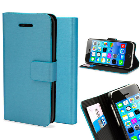 iphone 5c wallet case metalix apple iphone 5c book light blue 14714