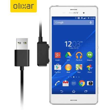 sony xperia z3 compact. Olixar Sony Xperia Z3 / Compact Z2 Magnetic Charging Cable