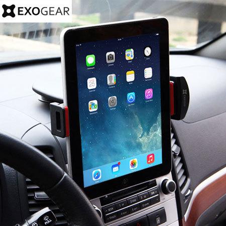 exogear exomount tablet car holder black mobilezap. Black Bedroom Furniture Sets. Home Design Ideas