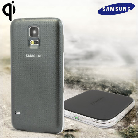 official samsung galaxy s5 qi wireless charging kit. Black Bedroom Furniture Sets. Home Design Ideas