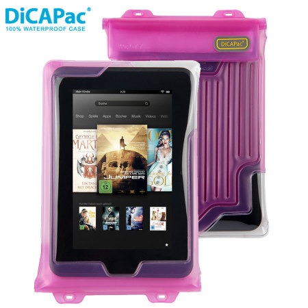 died last week dicapac universal waterproof case for tablets up to 8 pink