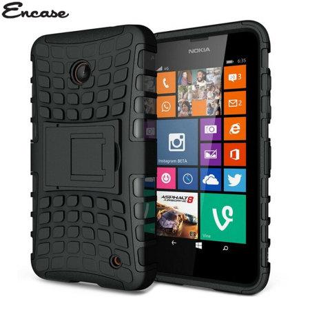 encase armourdillo nokia lumia 630 635 protective case orange