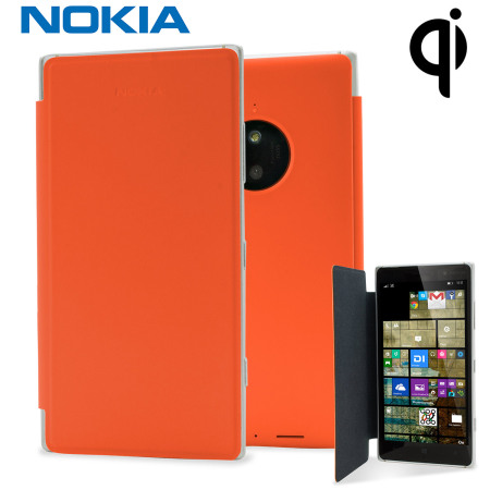 Official Nokia Lumia 830 Wireless Charging Flip Shell