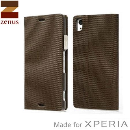 Music for zenus metallic diary sony xperia z3 case bronze the top