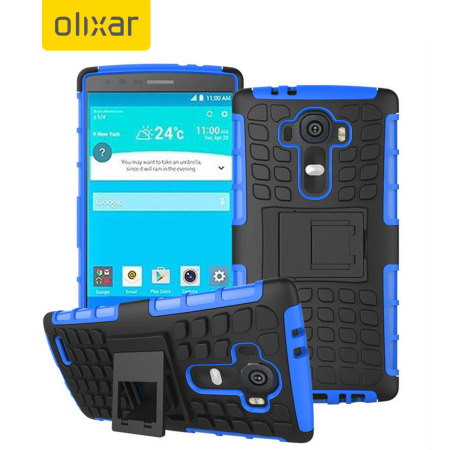 SUIS olixar armourdillo lg g5 protective case blue currently one the