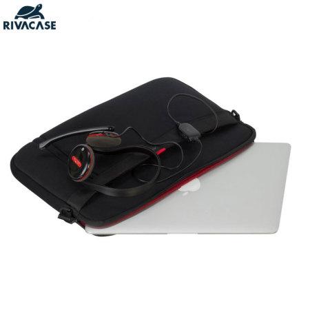 highest CTRs rivacase 5120 macbook air pro 13 laptop bag black 3 in: