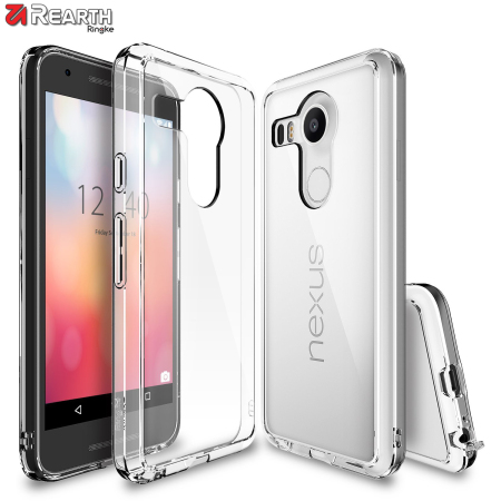 your rearth ringke fusion google nexus 5x case crystal view phone rooted