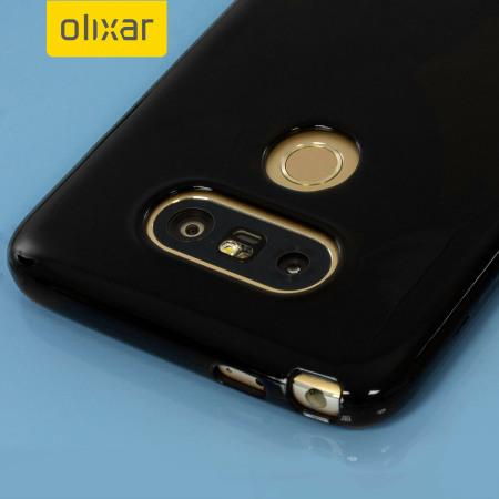 call flexishield lg g5 gel case solid black the