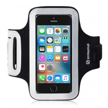 can shocksock sports iphone se armband black was
