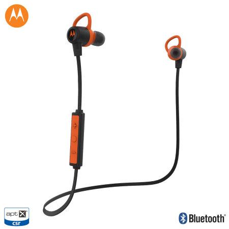 motorola verveloop wireless bluetooth aptx earbuds black orange reviews mobilezap australia. Black Bedroom Furniture Sets. Home Design Ideas