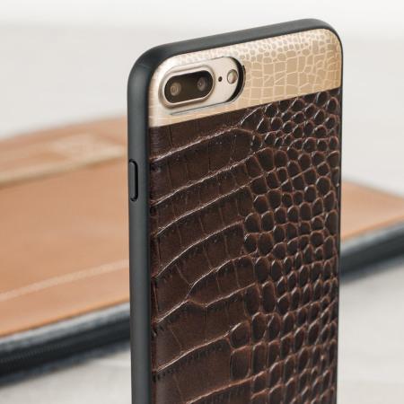 coque leather case iphone 8