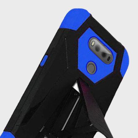One way zizo hybrid turbo lg v20 tough case kickstand blue black may not