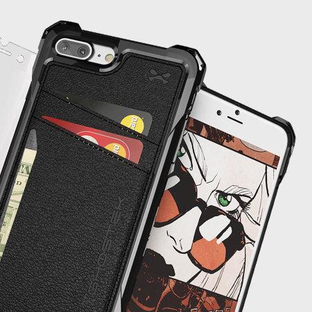 ghostek exec series iphone 7 plus wallet case black