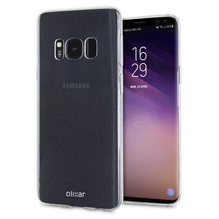 wanna know, olixar ultra thin samsung galaxy s8 case 100% clear smart device holds